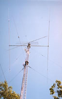 The rotating tower before the changes.