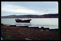 Port Stanley, Falklands - Ship Wreck - Feb 2002