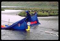 South Georgia - Tent Cleaning - Jan 2002
