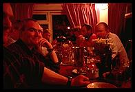 Port Stanley, Falkland Islands - Dinner - Feb 2002