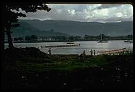 Long boats - Western Samoa - 1986