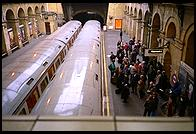 London - Paddington tube stop - Jan 2002