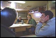 South Georgia - Braveheart - W3WL, Nigel and 9V1YC -  Jan 2002